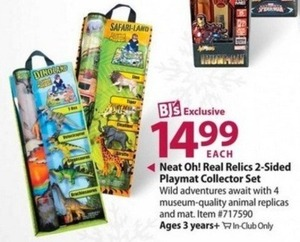 Heat Oh! Real Relics 2-Sided Playmat Collector Set