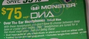 Monster Over the Ear Headphones