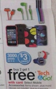 Select Mobile Accessories w/ 3K Points