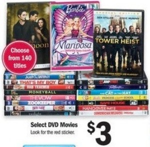 Select DVD Movies