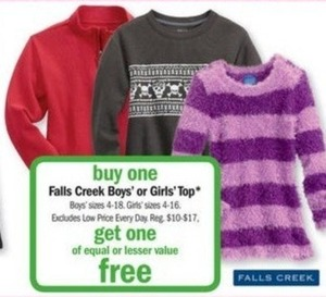 Falls Creek Boys' Top