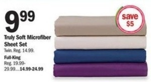 Truly Soft Microfiber Sheet Set - Full