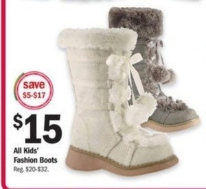 All Kids' Fashion Boots