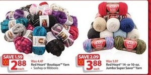 Red Heart Boutique Yarn