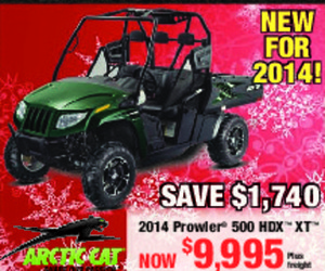 Artic Cat 2014 Prowler 500 HDX XT