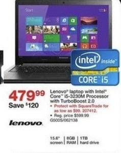 "Lenovo G500s 15.6"" Laptop w/ Intel Core i5 CPU, 8GB DDR3L, 1TB HDD"