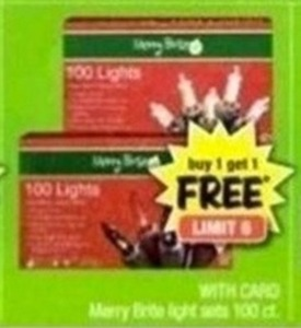 Merry Brite 100ct LIght Sets