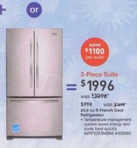 Whirlpool 24.8-cu. ft. French Door Refrigerator