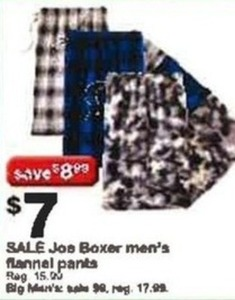 Joe Boxer Men's Flannel Pants