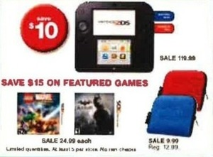 Select Nintendo 2DS Games