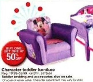 Character Toddler Furniture