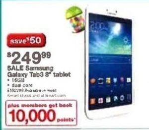 """Samsung Galaxy Tab3 8"""" Tablet"""