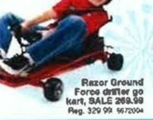 Razor Ground Force Drifter Go Cart
