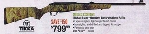 Tikka Boar-Hunter Bolt-Action Rifle