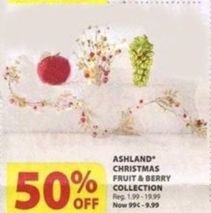 Ashland Christmas Fruit & Berry Collection