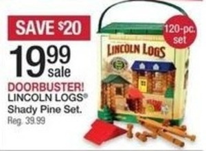 Lincoln Logs Shady Pine Set