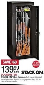 Stack-On Gun Cabinet