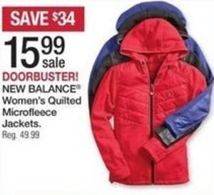 New Balance Women's Quilted Microfleece Jackets