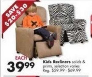 Kids Recliners