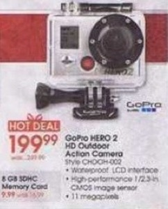 GoPro Hero 2 HD Outdoor Action Camera