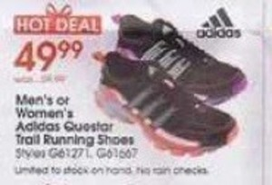 Adidas Men's or Women's Questar Trail Running Shoes