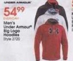 Under Armour Men's Big Logo Hoddies