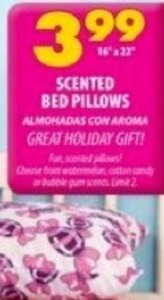 Scented Bed Pillows