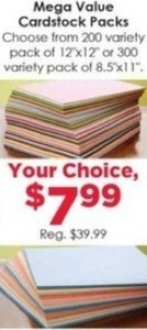 Mega Value Cardstock Packs