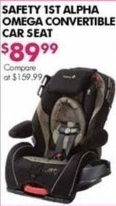 Safety 1st Omega Convertible Car Seat