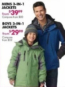 Boys' 3-in-1 Jackets