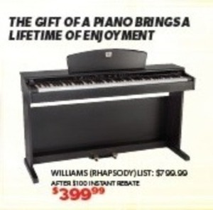 Williams Rhapsody Piano