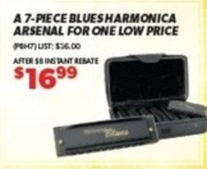 Blues Harmonica Arsenal
