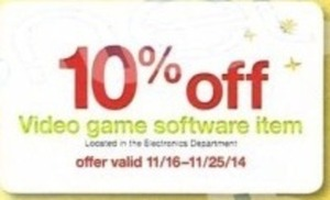 Video Game Software (Coupon) - 11/16 - 11/25
