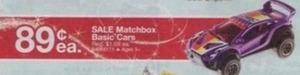 Matchbox Basic Cars