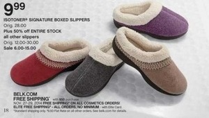 Entire Stock of Women's Slippers
