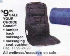 Conair Lumbar Back Massager