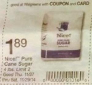 Nice! Pure Cane Sugar