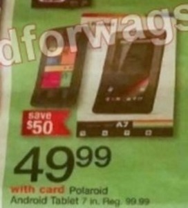 Polaroid Android 7-in. Tablet