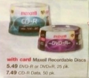 Maxell CD-R Data Recordable Discs