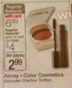 Almay i-Color Cosmetics + $4 Register Rewards