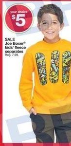 Joe Boxer Kids' Fleece Separates