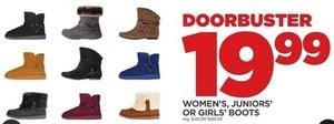 Women's, Juniors' and Girls' Boots