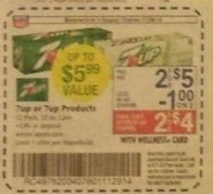 7 Up Products Coupon
