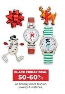 All Holiday Motif Fashion Jewelry & Watches