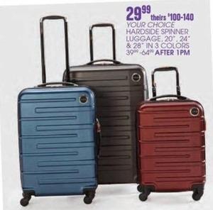 """Hardside Spinner 20"""", 24"""" or 28"""" Luggage"""