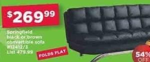 Springfield Convertible Sofa