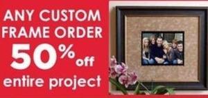 Any Custom Frame Order