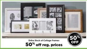 Entire Stock of Collage Frames