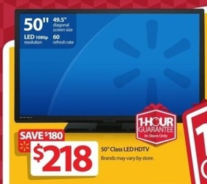 "50"" 1080p 60Hz LED HDTV - Thursday"