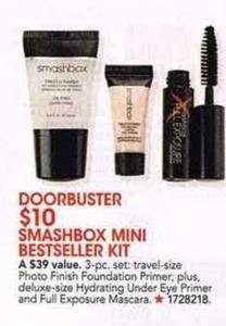 Smashbox Mini Bestseller Kit